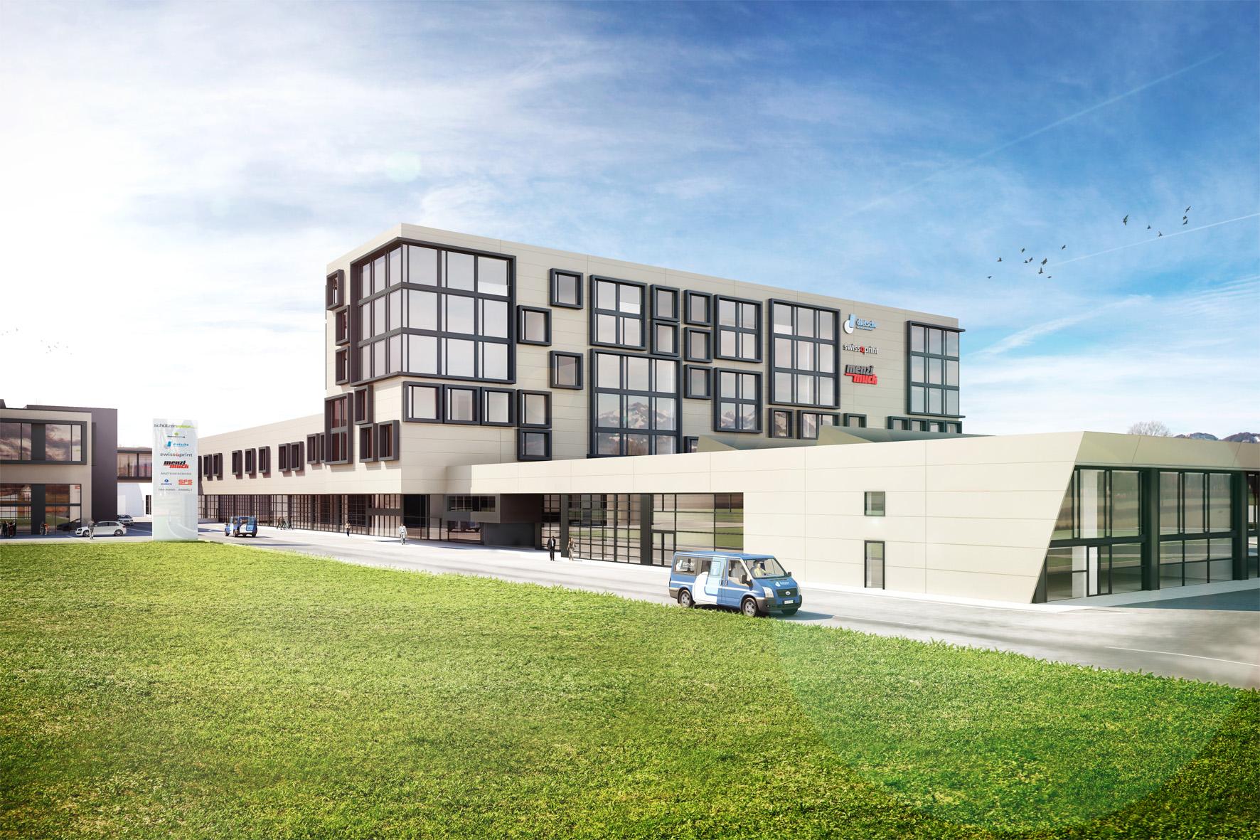 Neubau Industriepark Schützenwiese Kriessern